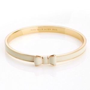 NEW KateSpade Take a Bow Bangle Stacking Bracelet